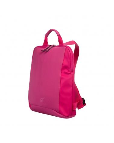 Tucano BFLABK-M-F Nylon And Neoprene Backpack with Internal Laptop Pocket - Fuchsia