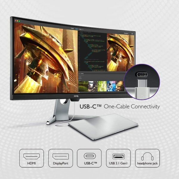 BenQ EX3501R Ultrawide Curved Gaming Monitor