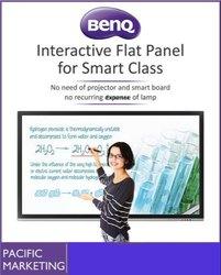 "BenQ Monitor 4K UHD 75""Education Interactive Flat Panel Display"