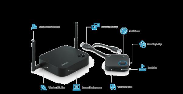 True Wireless Presentation Device Without Software   InstaShow™ WDC10