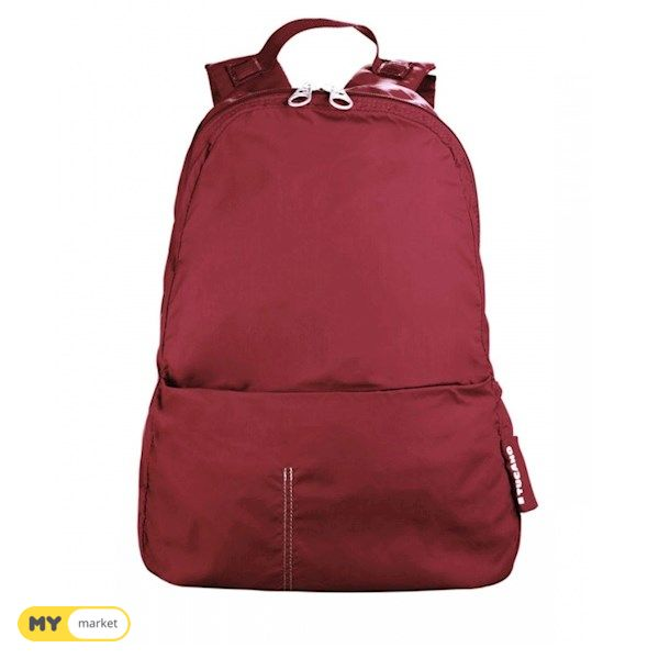 Tucano Compatto XL Backpack Carbon- BURGUNDY