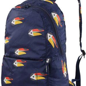 Tucano Compatto Mendini Foldable Backpack - Blue