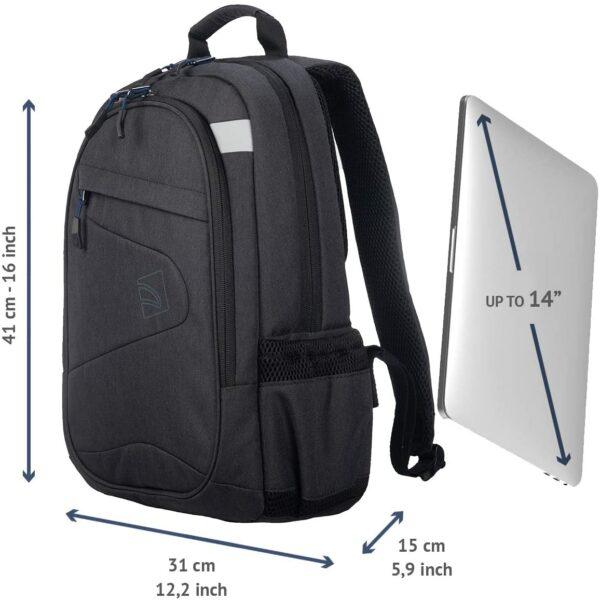 Tucano – Lato Backpack 14″ Black