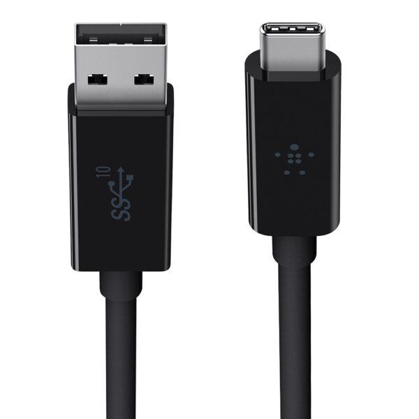 Belkin PK0001yz1MC2 745883791354 40W USB-A to USB-C Cable White 1m